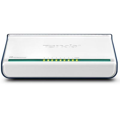 SWITCH TENDA FAST ETHERNET MINI S108 10/100MBPS 8 PUERTOS S108