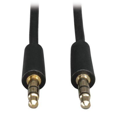 CABLE TRIPP LITE 3.5MM MACHO 30CM NEGRO P312-001