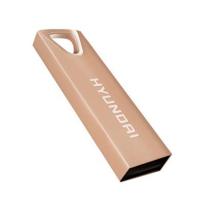 MEMORIA USB HYUNDAI U2BK/32GARG ORO ROSA 32 GB USB 2.0 10 MB/S 3 MB/S