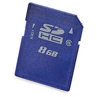 MEMORIA FLAS HP 726113-B21 8GB SDHC ENTERPRISE MAINSTREAM CLASE 6 AZUL
