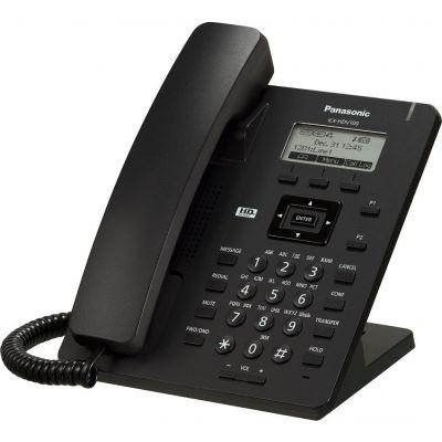 "TELEFONO IP PANASONIC KX-HDV100LAB LCD 2.3"" ADAP AC ETHERNET NEGRO"