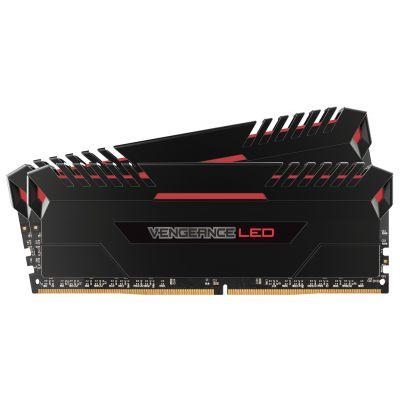 MEMORIA DDR4 CORSAIR VENGEANCE LED R 16GB 2X8 3200 CMU16GX4M2C3200C16R