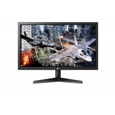 "MONITOR GAMER LG 24GL600F-B LED 23.6"" 1920x1080 1MS HDMI/DP 144HZ"