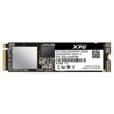 UNIDAD SSD M.2 ADATA XPG 256GB SX8200P PCIE ASX8200PNP-256GT-C