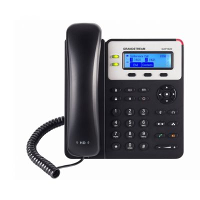TELEFONO IP GRANDSTREAM GXP1625 SI 2 LINEAS NEGRO