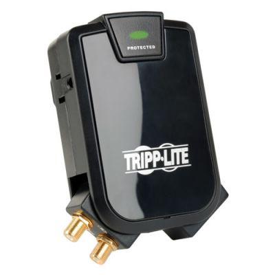 SUPRESOR DE PICOS TRIPPLITE 3 CONTACTOS PROTECCION COAXIAL 1080J