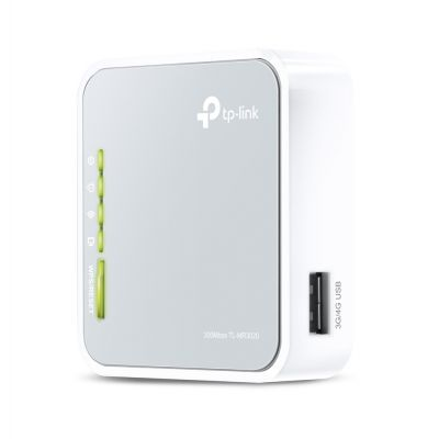 ROUTER PORTATIL TP-LINK 3G/4G 150MBPS RJ45 TL-MR3020