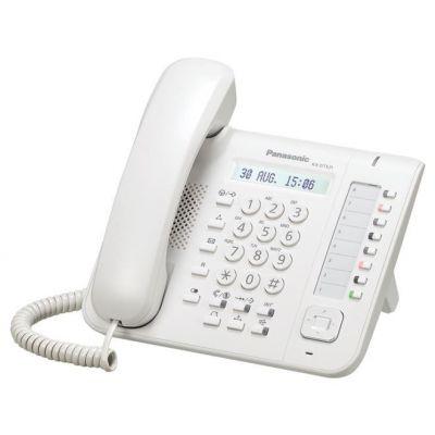 TELEFONO DIGITAL PANASONIC CON ALTAVOZ LCD COLOR BLANCO