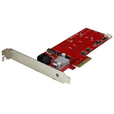 STARTECH TARJETA PCI EXP. 2X SSD NFGG M.2 2X SATA III PEXM2SAT3422