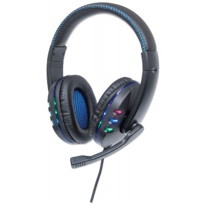 DIADEMA GAMER MANHATTAN USB 1.8M LUZ LED 176088