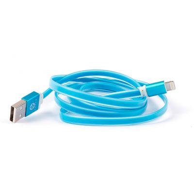 CABLE LIGHTNING A USB NACEB TECHNOLOGY 1 M, USB A 2.0 MACHO/MACHO AZUL