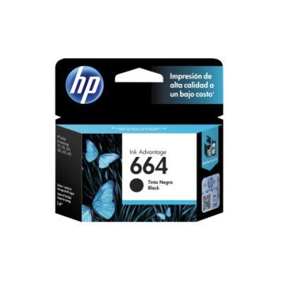 CARTUCHO HP 664 NEGRO PARA 1115 / 2135 (F6V29AL)
