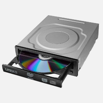 QUEMADOR DE DVD LITE-ON IHAS124 COLOR NEGRO SATA 48X 24X