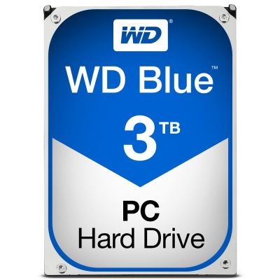 "DISCO DURO INTERNO WESTERN DIGITAL BLUE 3.5"" 3TB SATAIII 5400RPM"