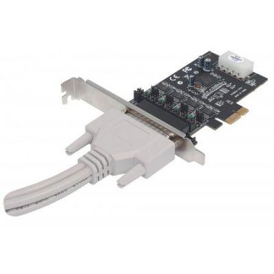 TARJETA SERIAL MANHATTAN PCI EXPRESS 4 PUERTOS 152105