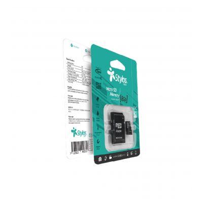 MEMORIA MICRO SD STYLOS 8 GB (STMSD81B)