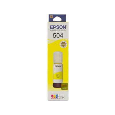 BOTELLA TINTA EPSON T504420 P/L4150/L4160 AMARILLO