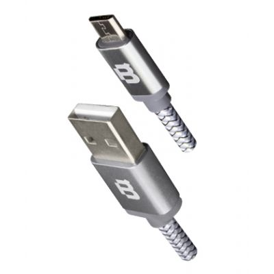 CABLE MICRO USB BLACKPCS GRIS 3M CAGYMT3M-5