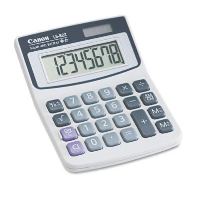 CALCULADORA CANON LS-82Z PANTALLA INCLINADA 8 DIGITOS 4075A007AA