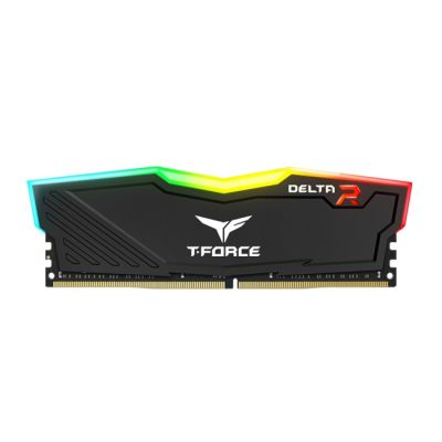 MEMORIA RAM TEAM GROUP T-FORCE DELTA 16GB 3200 MHZ RGB NEGRO