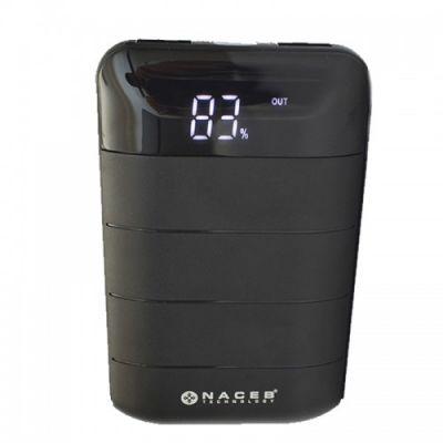 POWER BANK NACEB TECHNOLOGY NA-0702 NEGRO 6000 MAH 5 V