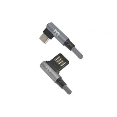 CABLE TIPO C BLACKPCS GRIS 1M LATERAL CAGYCPL-2