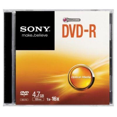 DISCO VIRGEN, DVD-R SONY , 4.7GB, 16X, DMR47SS