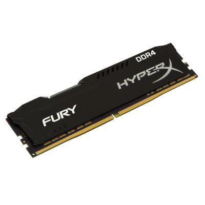 MEMORIA DDR4 KINGSTON HYPERX FURY BLK 4GB 2666 MHZ CL15 (HX426C15FB/4)