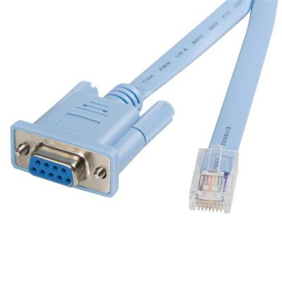 Cable 1.8m Gestion Router Cisco Rj45 a Serial DB9 STARTECH DB9CONCABL6