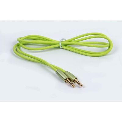 CABLE AUXILIAR NACEB TECHNOLOGY NA-471VE 1 METRO 3.5 JACK COLOR VERDE