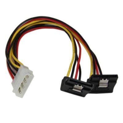 Cable 30cm Corriente Divisor Molex a 2x SATA STARTECH PYO2LP4LSATR