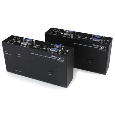 EXTENSOR  CONSOLA KVM CAT  5  200M USB VGA DOBLE  STARTECH SV565DUTPU