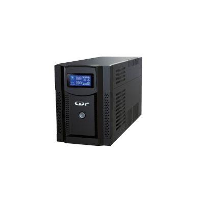 NO BREAK CDP UPRS1508 1500VA/1050W SENOIDAL 8 CONT REG BAT SUP LCD