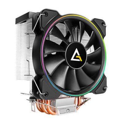 DISIPADOR CPU ANTEC A400 RGB BLACK LGA115X AM4 120MM