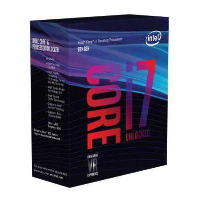 PROCESADOR INTEL COREI7 8700K 6CORE 3.7GHz 95W1151 BX80684I78700K