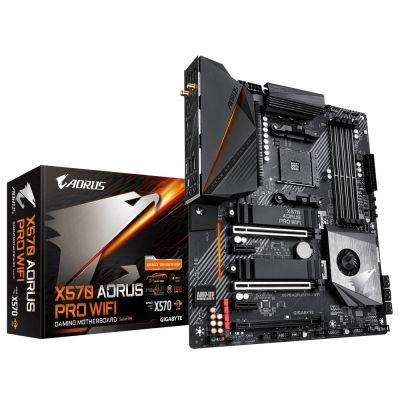 TARJETA MADRE AORUS X570 AORUS PRO WIFI AM4 USB3.2 PCIE4.0 4xDDR4