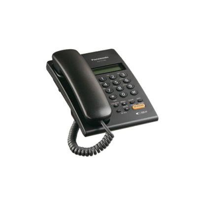 TELEFONO DIGITAL PANASONIC PARA PARED COLOR NEGRO PANTALLA LCD