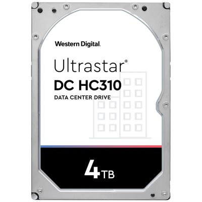 "DISCO DURO INTERNO 3.5"" 4TB SATA 6GB 7200RPM 256MB WD ULTRASTAR"