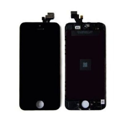 DISPLAY LCD+DIGITIZER IPHONE 5 (SIN CAM/BOTON) NEGRO (MOBE-5GN)