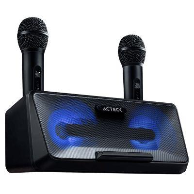 BOCINA KARAOKE ACTECK BT 4.2 20W 3.5/USB/MICROUSB 2 MICRO AC-926935