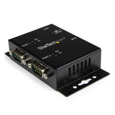 ADAPTADOR USB A SERIAL STARTECH DB9 FTDI DE 2 PUERTOS ICUSB2322I
