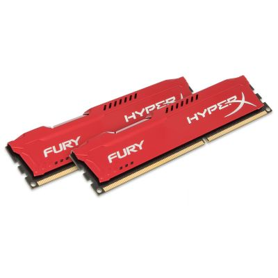 MEMORIA SDRAM FURY HYPER KINGSTON KIT 2X8GB DIMM DDR3 CL10 800MHZ 1.5V