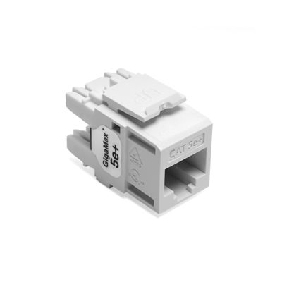 CONECTOR LEVITON QUICKPORT GIGAMAX CATEGORIA 5E 5G110-RW5