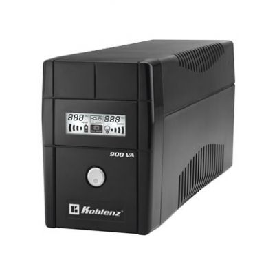 NO BREAK KOBLENZ 9011-USB/R 900 VA 480 W NEGRO HOGAR Y OFICINA