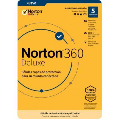 NORTON 360 DELUXE 5DV 1YR (TMNR-034)