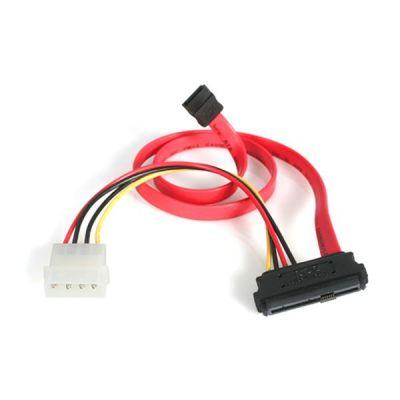 cable 0.45m divisor SAS a SATA y LP4 alimentacion  STARTECH SAS729PW18