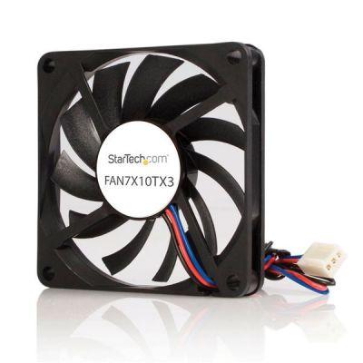 VENTILADOR GABINETE COMPUTADORA 70MM CONECTOR TX3  STARTECH FAN7X10TX3