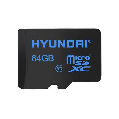 MEMORIA MICRO SD HYUNDAI SDC64GU1 64 GB NEGRO CLASE 10