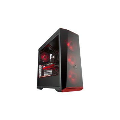 GABINETE GAMER COOLER MASTER MASTERBOX LITE 5 RGB SIN FUENTE ATX