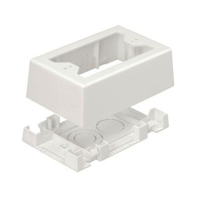 CAJA APARENTE PANDUIT JBX3510WH-A COLOR BLANCO DE PVC